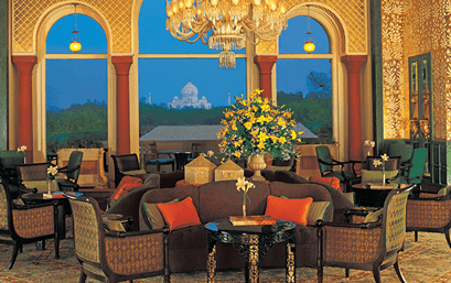 The Lounge at The Oberoi Amarvilas Agra