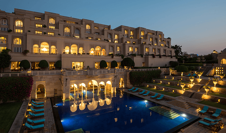 Dine Under the Stars Experience at The Oberoi Amarvilas Agra