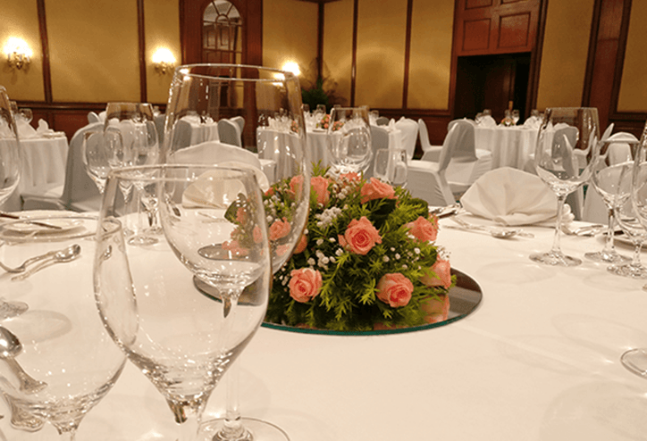 The Oberoi Grand banquets - personalised