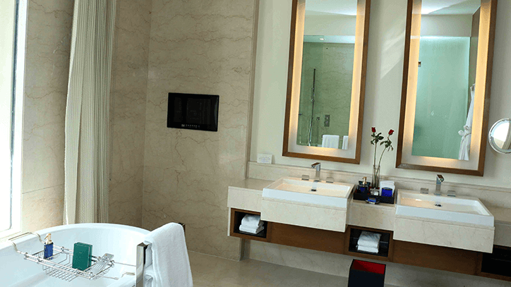 Premier Suite with pool with Bathroom at The Oberoi Gurgaon