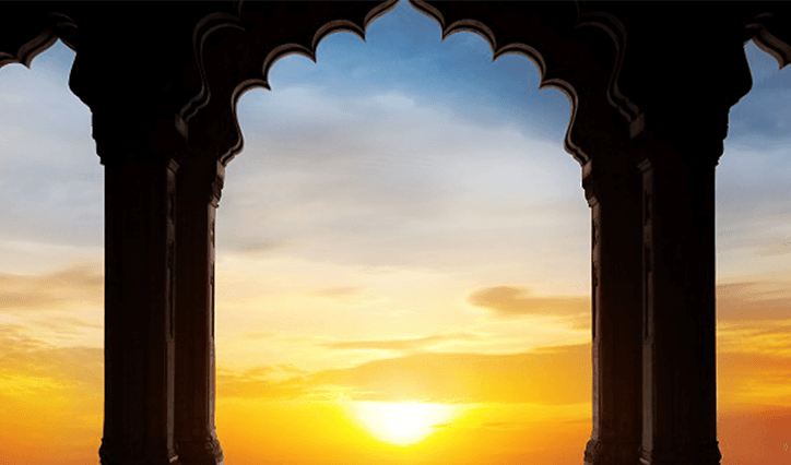 Sunset at Naila Fort Experience at The Oberoi Rajvilas Jaipur
