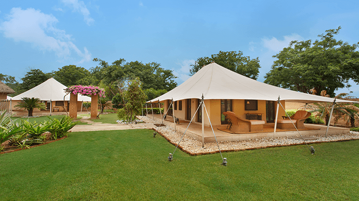 Royal Tent, The Oberoi Rajvilas Jaipur