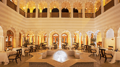 The Restaurant at The Oberoi Beach Resort Sahl Hasheesh