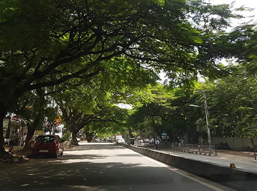 Indiranagar - popular neighbourhood in Bangalore