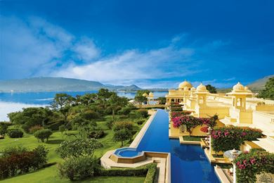 Premier Rooms with Semi Private Pool at The Oberoi Udaivilas, Udaipur