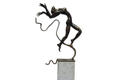 Bronze on Granite sculptures