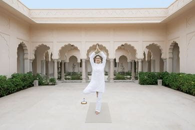 Yoga is an integral part of various programmes at The Oberoi Spa