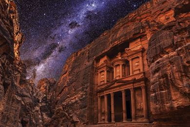 Al Khazna or the Treasury at Petra