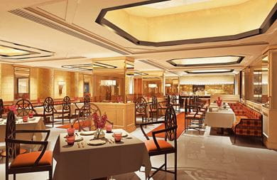 Omya the authentic Indian restaurant at The Oberoi New Delhi