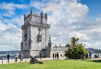 The Belem Tower is a UNESCO World Heritage Site