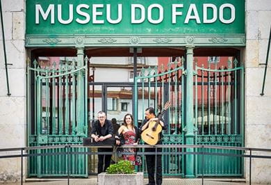 Entrance of the Fado Museum