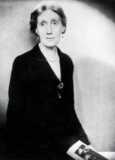 Modernist author Virginia Woolf