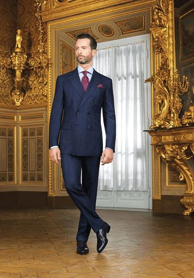 A bespoke SR tuxedo is perfect for an evening of elegance and splendour