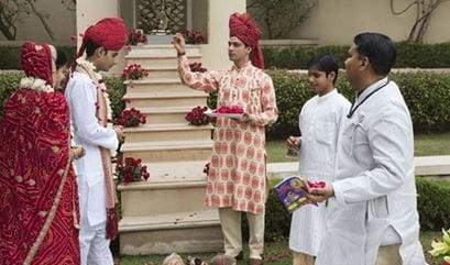 Renewal of Vows Ceremony at The Oberoi Amarvilas Agra