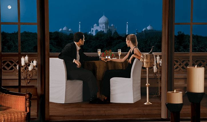Private Balcony Dining Experience at The 5 Star Resort in Agra, The Oberoi Amarvilas