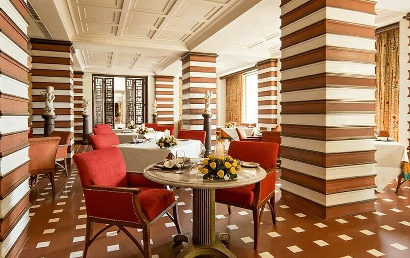 Esphahan Mughal Cuisine Restaurant at Luxury Resort The Oberoi Amarvilas, Agra