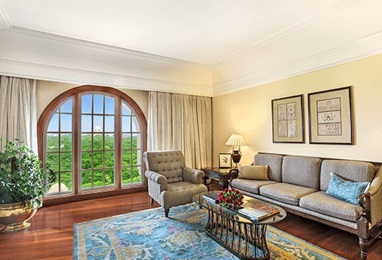 Deluxe Suite Living Room, The Oberoi Amarvilas Agra