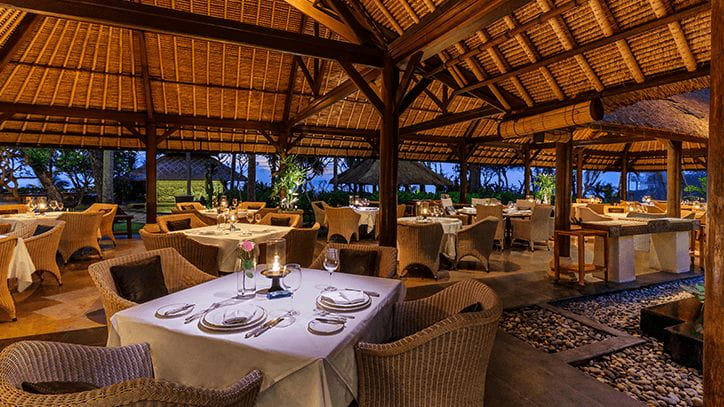 Kura Kura Restaurant at The Oberoi Beach Resort Balic