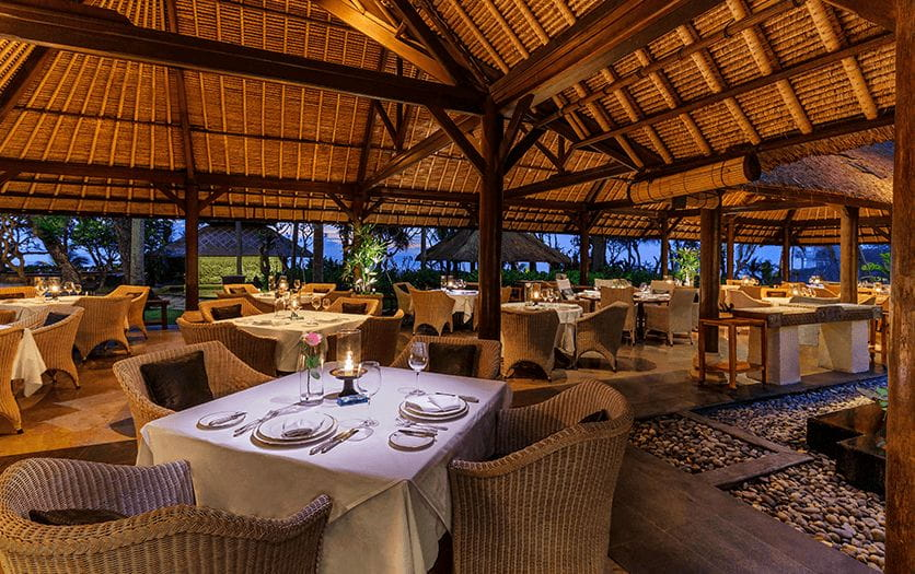 Kura Kura Restaurant at The Oberoi Beach Resort Bali