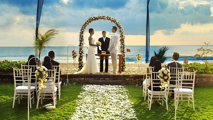 Exotic Villa Wedding in The Oberoi Beach Resort Bali