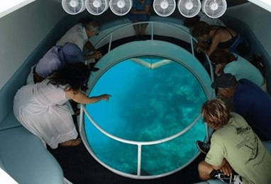 Glass Bottom Boat Ride Experience in Bali