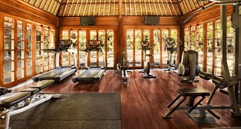Gym at The Oberoi Beach Resort Bali