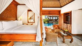 The Oberoi Bali - Royal Villa bedroom