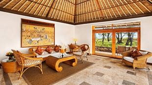 The Oberoi Bali - Royal Villa Living Room