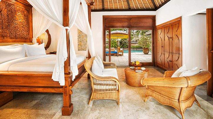 Royal Villa in The Oberoi Beach Resort Bali