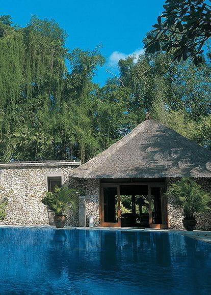 Luxury 5 Star Hotel Lanais Villas In Bali The Oberoi Beach Resort Bali
