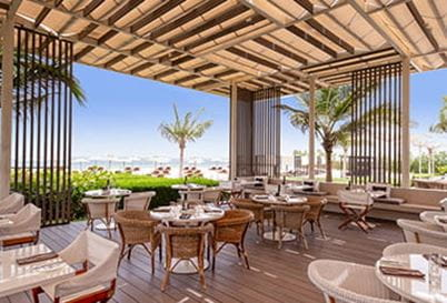 Aquario Restaurant at The Oberoi Beach Resort Al Zorah