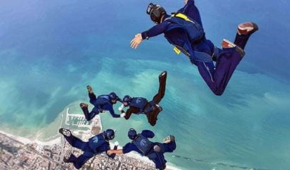 Skydive at The Oberoi Beach Resort Al Zorah