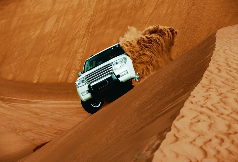 Desert Safari at The Oberoi Beach Resort Al Zorah