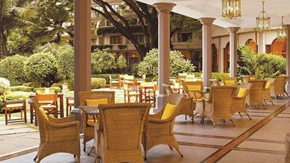 Polo Club Verandah at The Oberoi Bengaluru