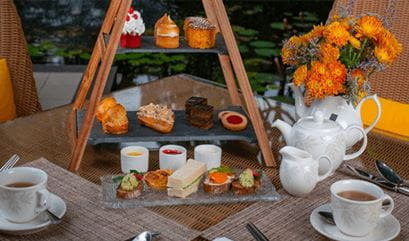 Garden Tea Party Experience at The Oberoi Bengaluru