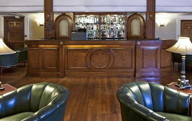 The Lounge and Bar at The Oberoi Cecil Shimla