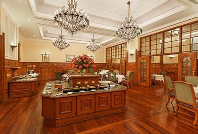 The Restaurant at The Oberoi Cecil Shimla