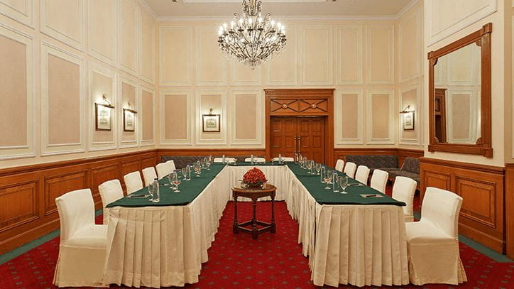 The Kipling Hall Luxury Meeting Room in Shimla at The Oberoi Cecil
