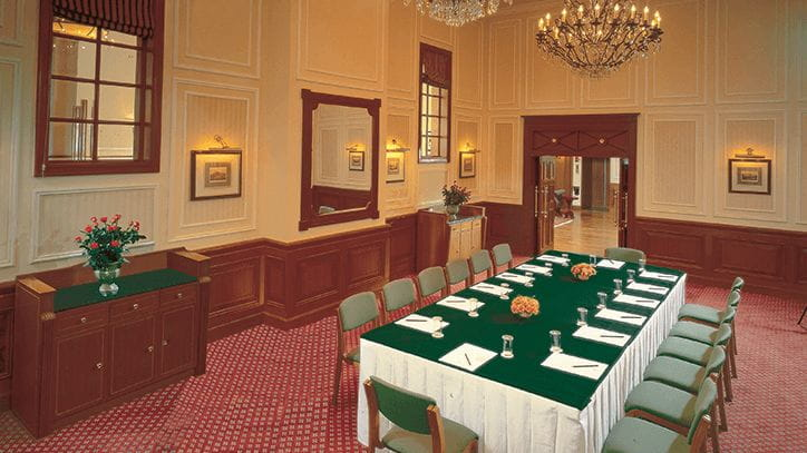 The Curzon Room Luxury Meeting Hall at The Oberoi Cecil Shimla