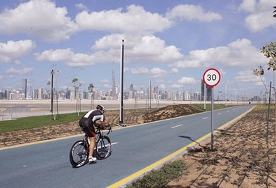 Dubai by Bicycle Experience, The Oberoi Dubai