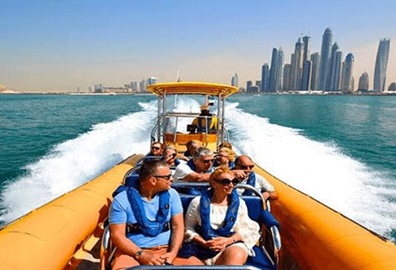 Yellow Boat Tours Experience, The Oberoi Dubai