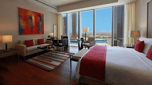 Deluxe City View Rooms, The Oberoi Dubai