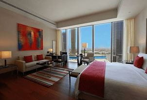 Deluxe City View Rooms at Best 5 Star Hotel The Oberoi Dubai