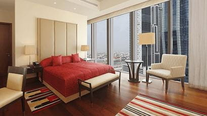Luxury Suites with Private Balcony, The Oberoi Dubai
