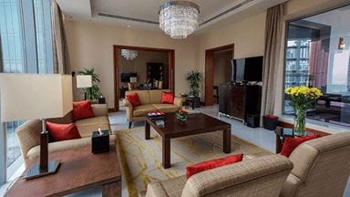 Presidential Suites at 5 Star Luxury Hotel, The Oberoi Dubai