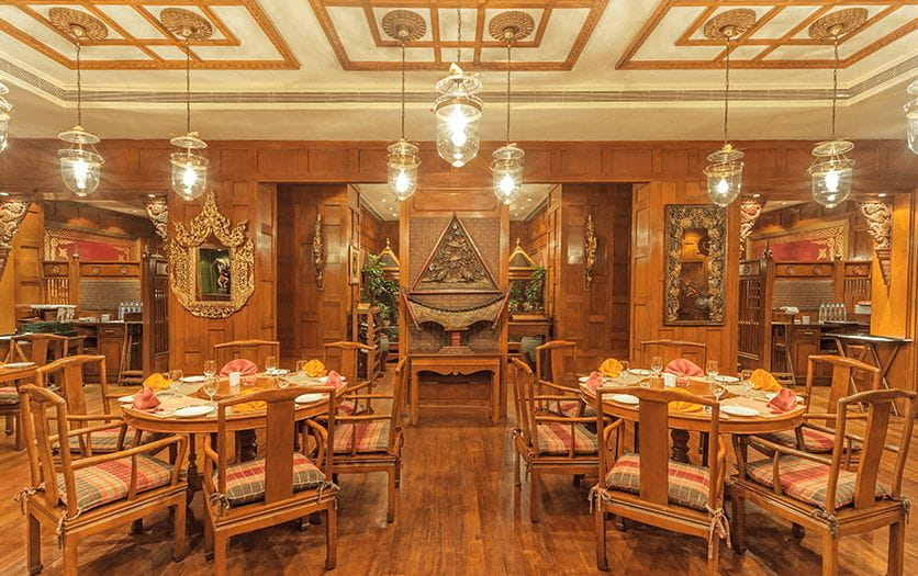 Baan Thai, Thai Cuisine Restaurant at The Oberoi Grand, Kolkata