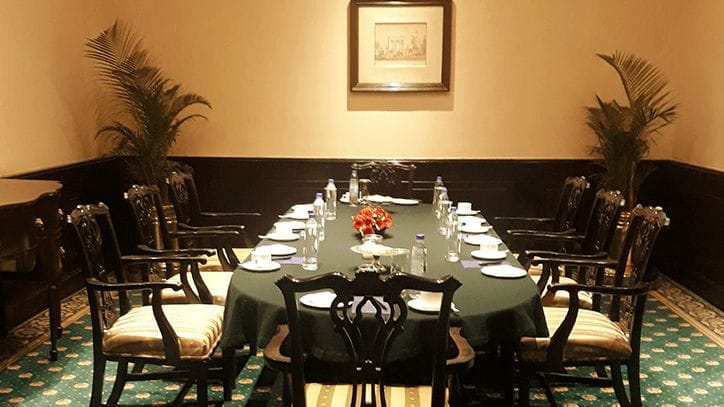 The Oberoi Grand banquets - Boardroom