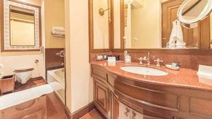 Grand Premier Room Bathroom, The Oberoi Grand Kolkata