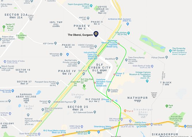 5 Star Hotels in Gurgaon | The Oberoi Gurgaon near Delhi Airport
