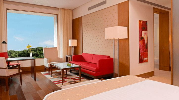 Deluxe Room at 5 Star Luxury Hotel The Oberoi Gurgaon